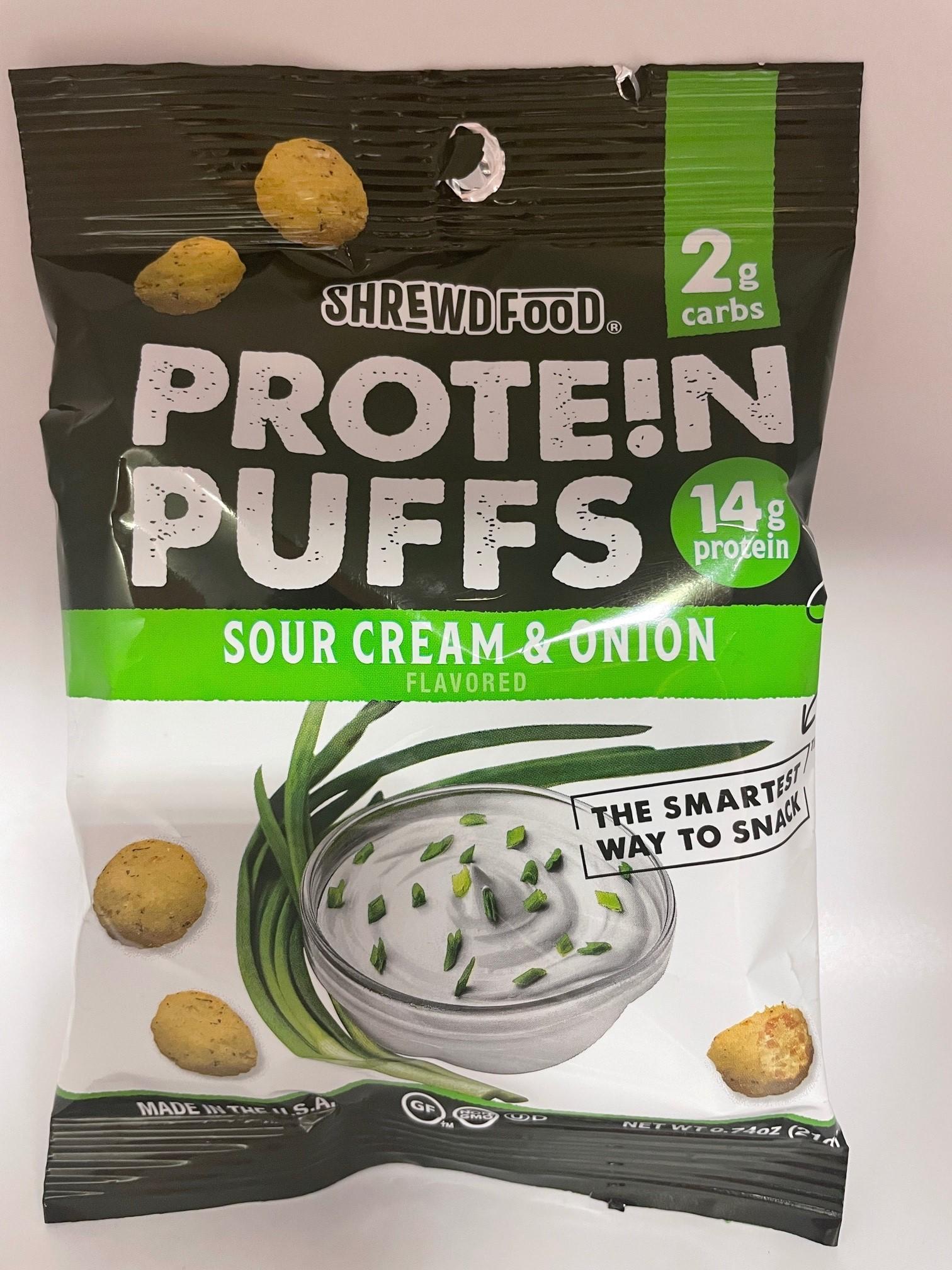 Sour Cream & Onion Protein Puffs