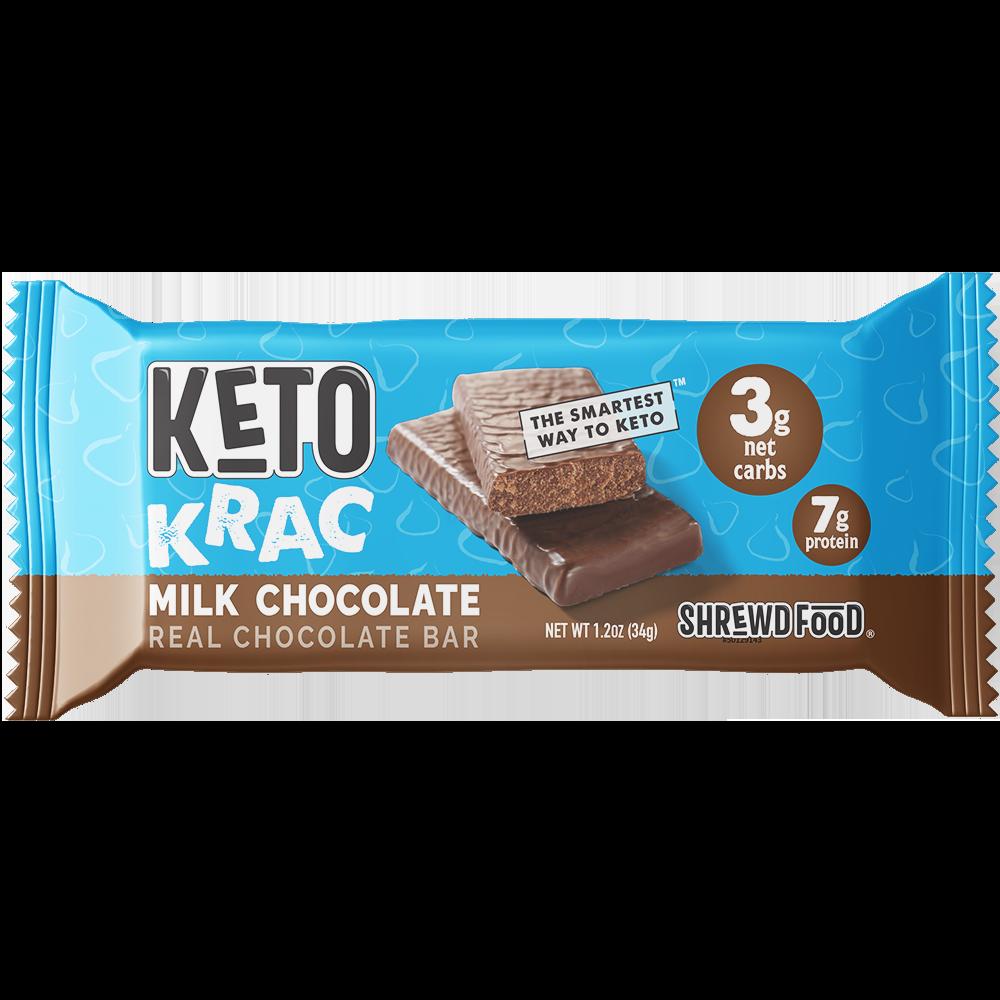 Milk Chocolate Keto Krac Bar