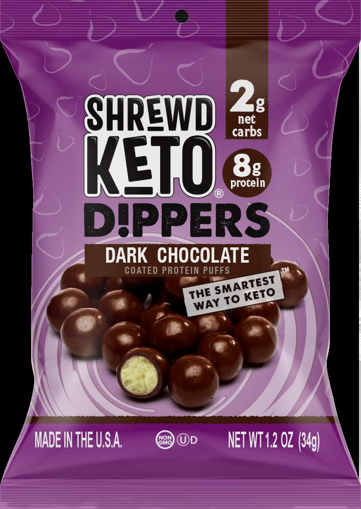 Dark Chocolate Keto Dippers