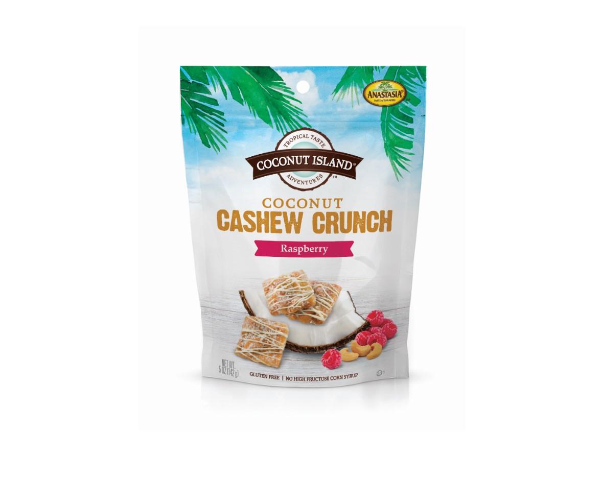 Coconut Cashew Crunch, Raspberry