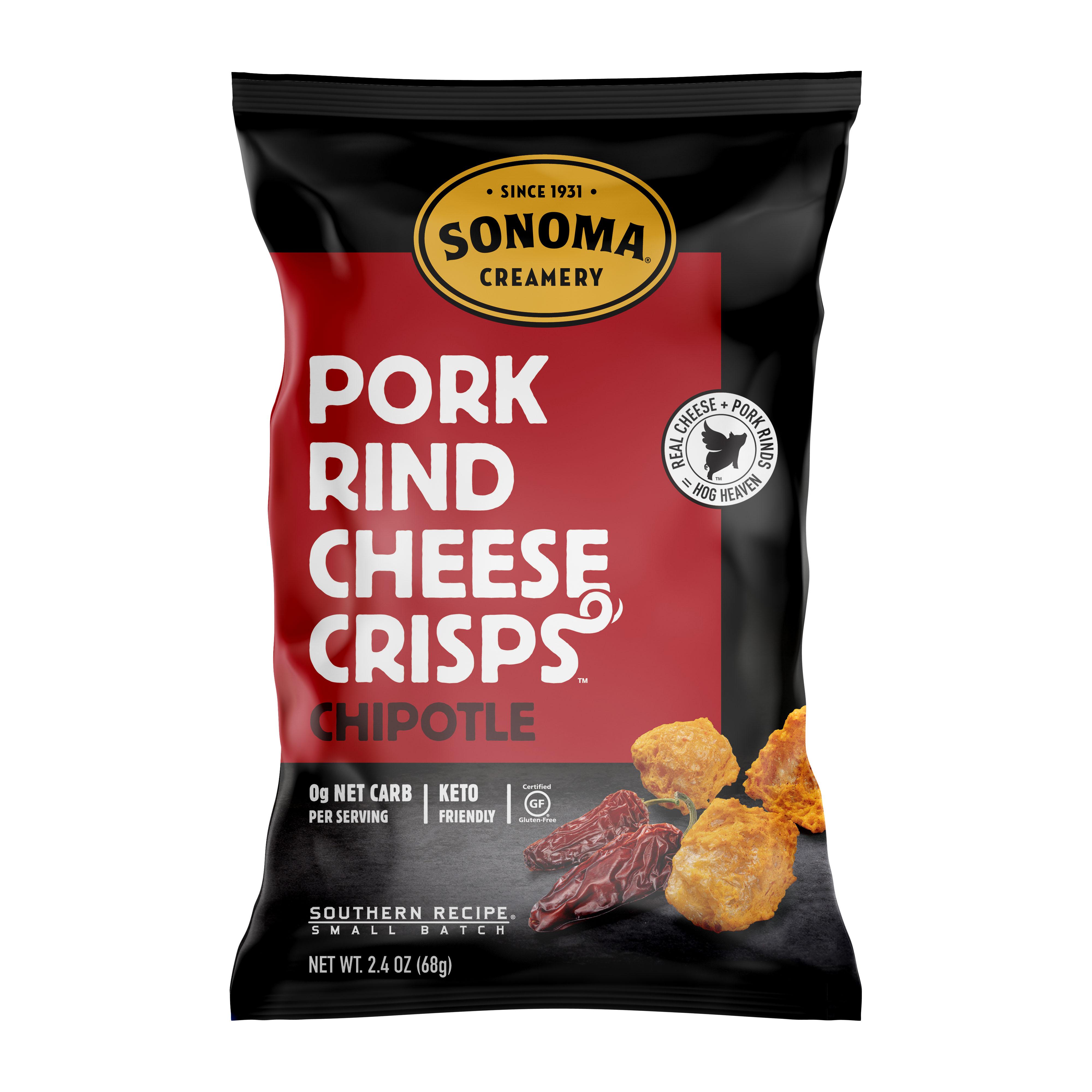 Pork Rind Cheese Crisps/Chipotle