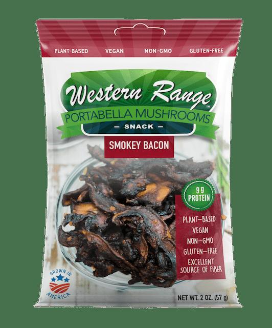 Plant-based mushroom snacks