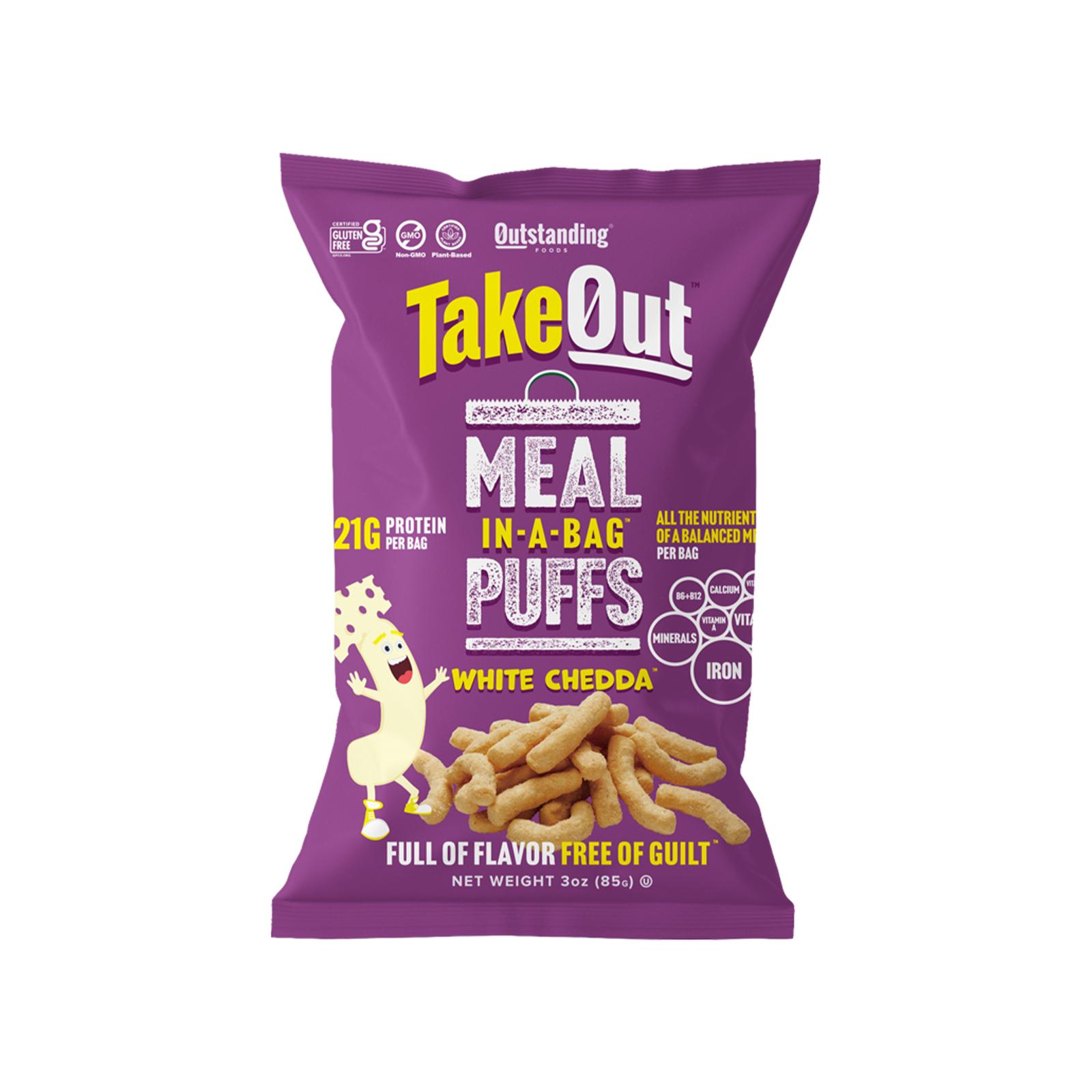 TakeOut Puffs - White Chedda