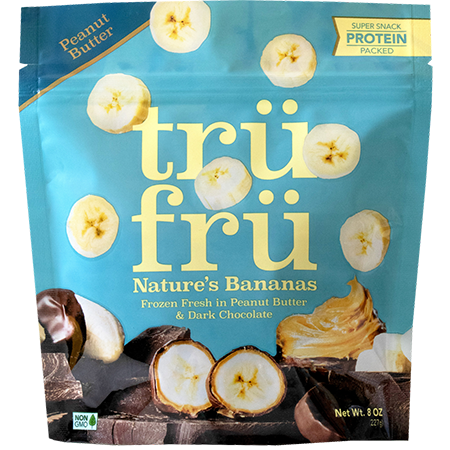 Nature Bananas Hyper-Chilled Fresh in Peanut Butter & Dark Chocolate