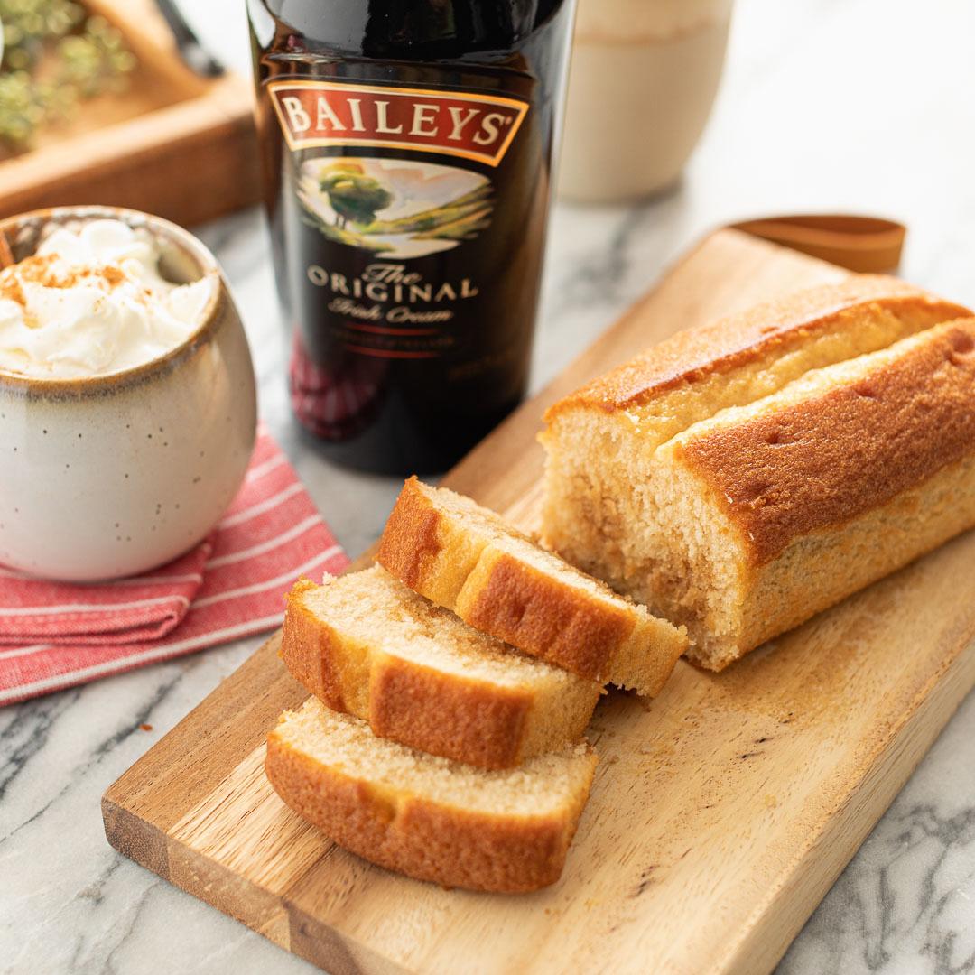 Baileys Irish Cream Loaf Cake
