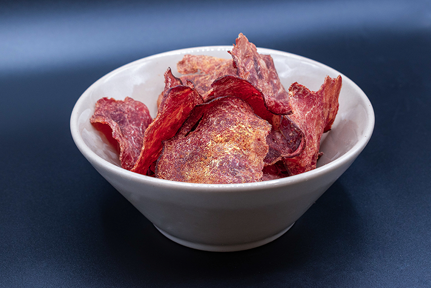 Sour Cream and Onion Crispy Jerky Chips