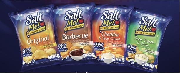 SaltMe! BBQ potato chips