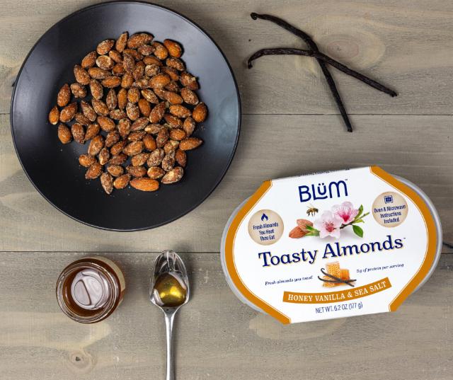 Honey Vanilla Sea Salt Toasty Almonds