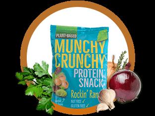 Munchy Crunchy Protein® Snack - Rockin