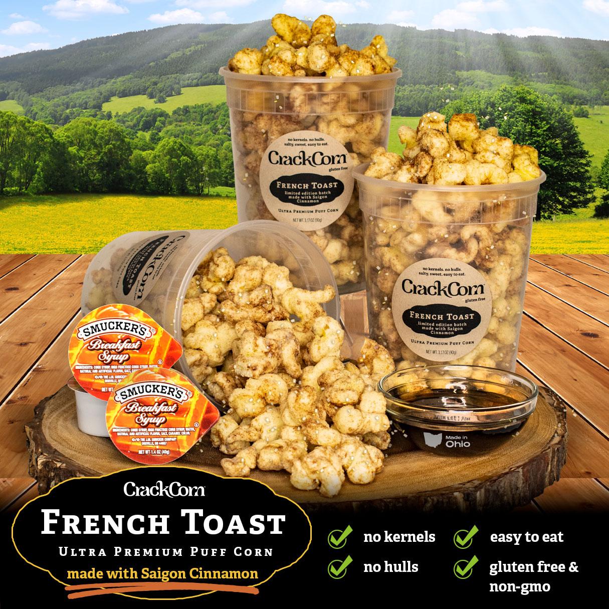 French Toast - Ultra-Premium Puff Corn