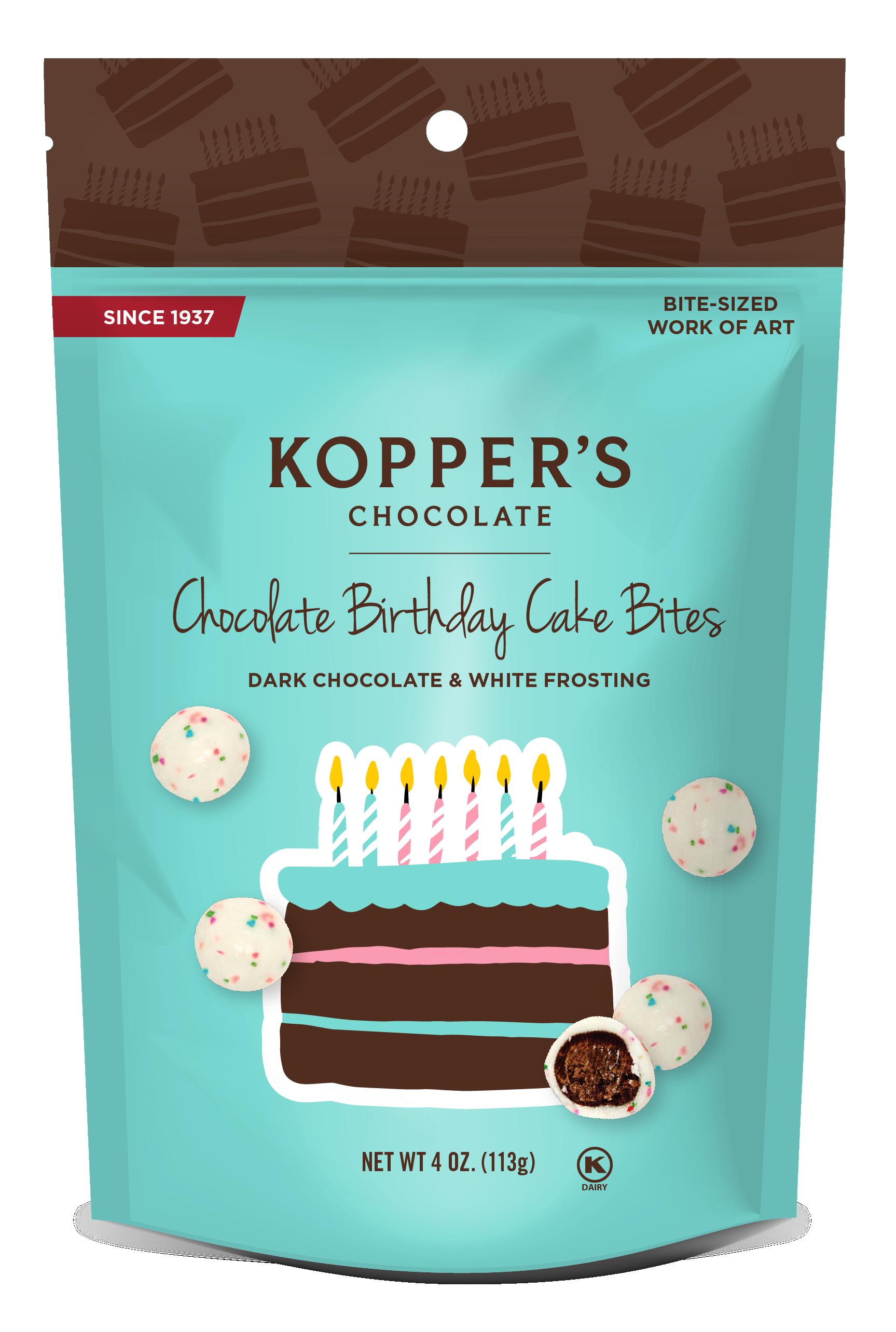 Chocolate Birthday Cake Bites