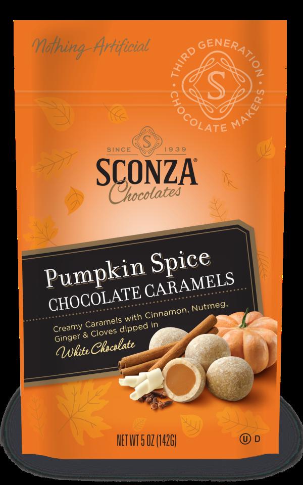 Pumpkin Spice Chocolate Caramels