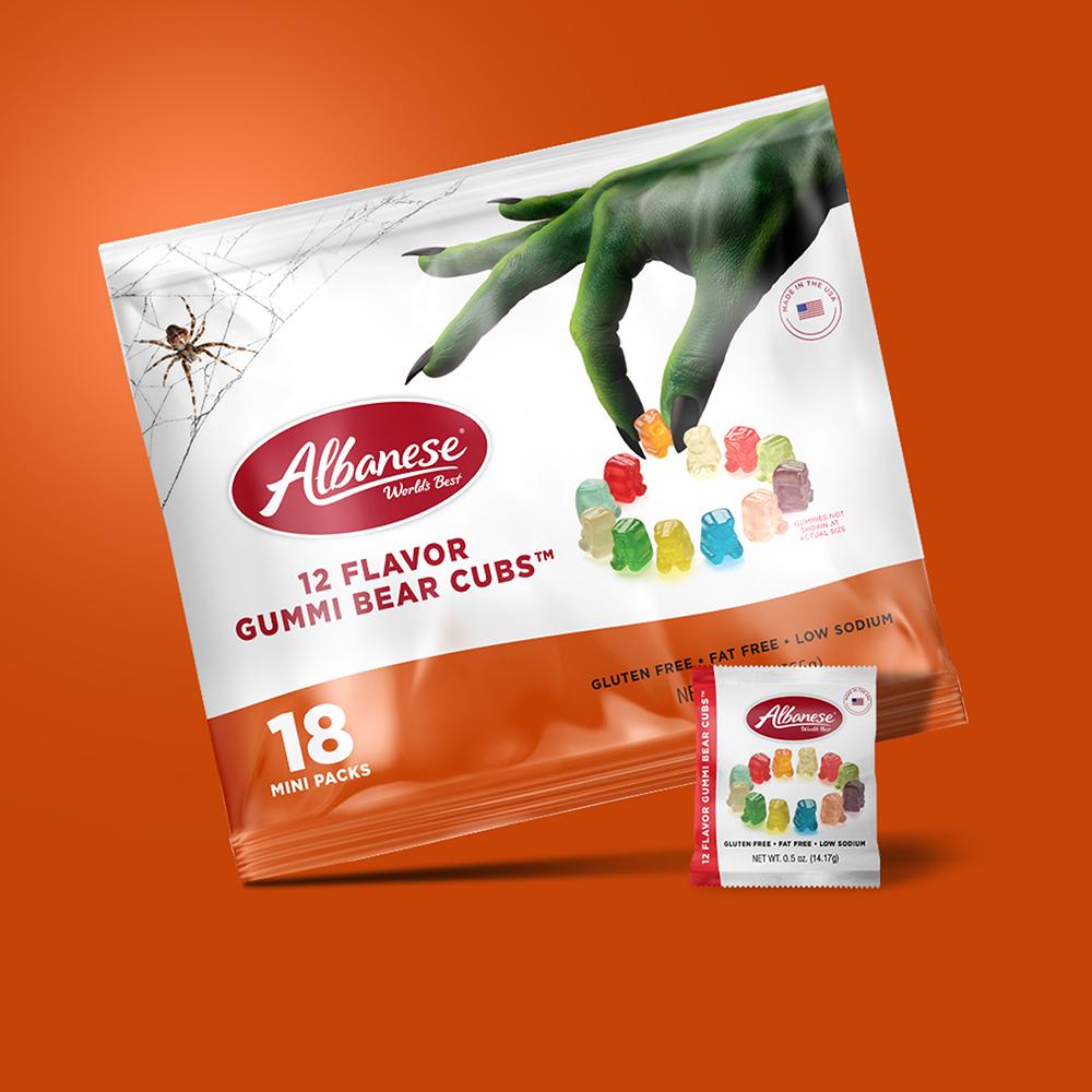 Halloween Multipack 12 Flavor Gummi Bear Cubs™ 18 count