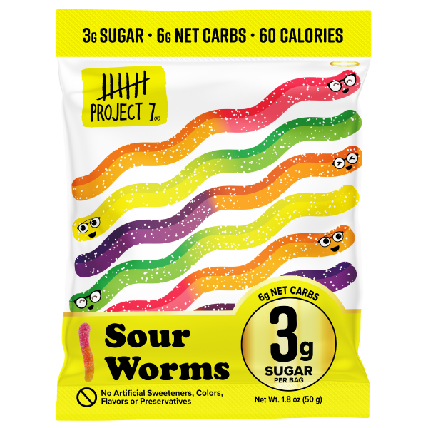Project 7 Low Sugar Sour Worms
