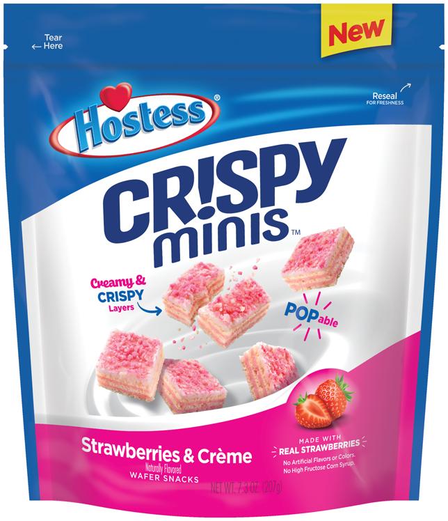 Cr!spy Minis (Strawberries & Creme)