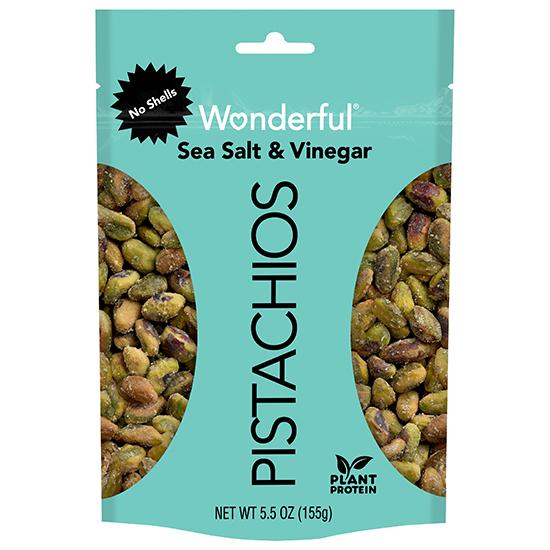 Wonderful Pistachios No Shells Sea Salt & Vinegar