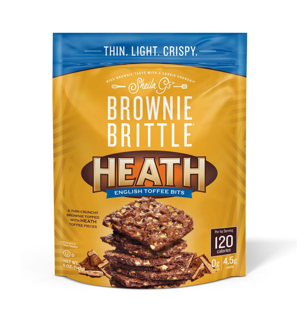 Heath Toffee Crunch Brownie Brittle