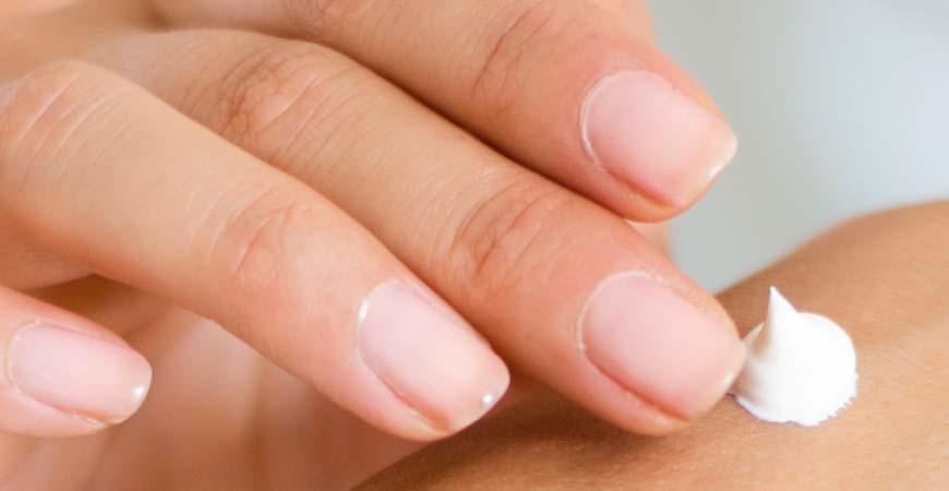 Crema para tratar la piel seca