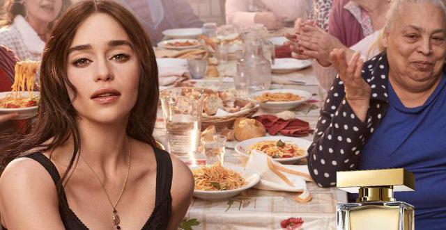Emilia Clark y Dolce Gabbana