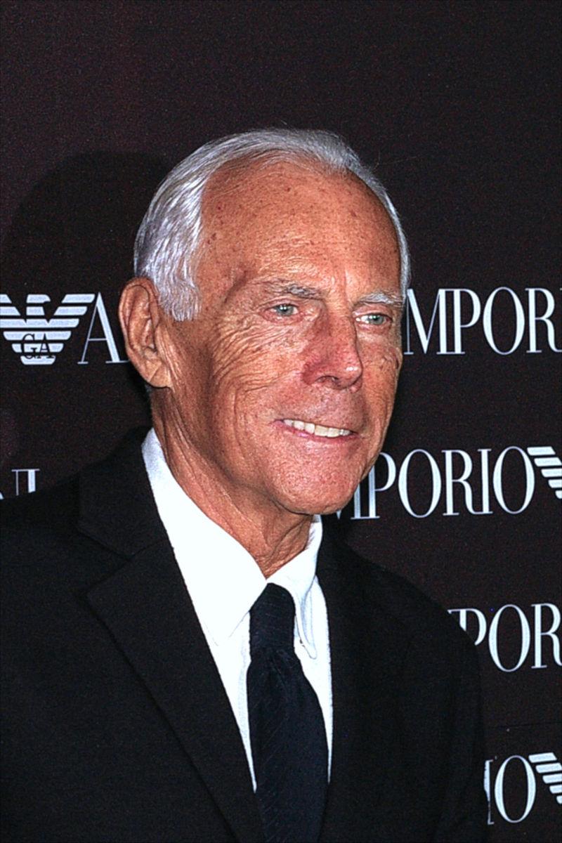 Fundador del Emporio Armani