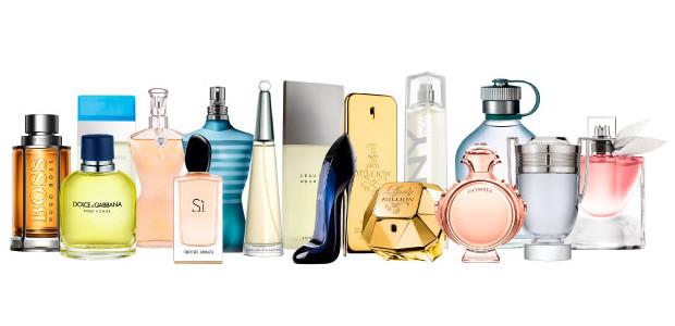 Marcas de perfumes y belleza