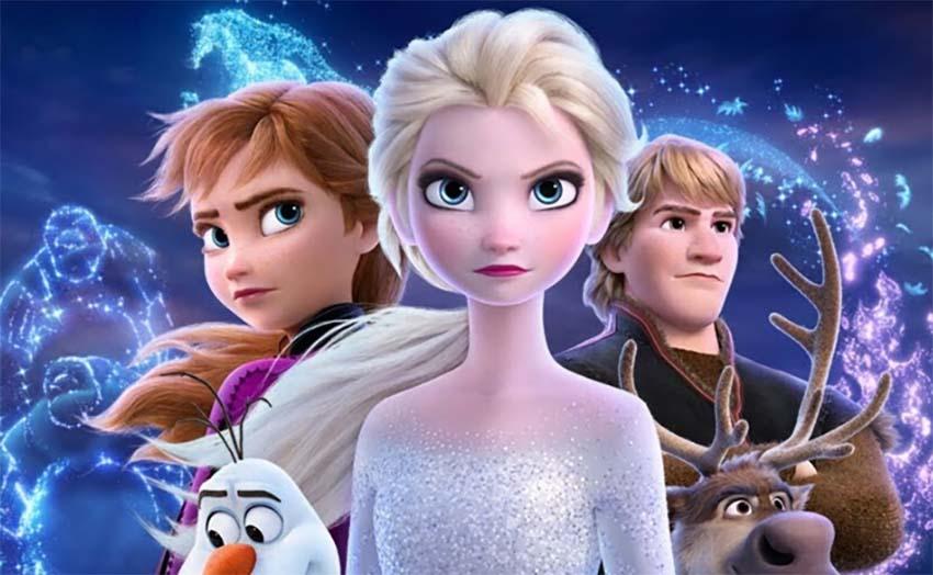 La colonia de Frozen para niñas
