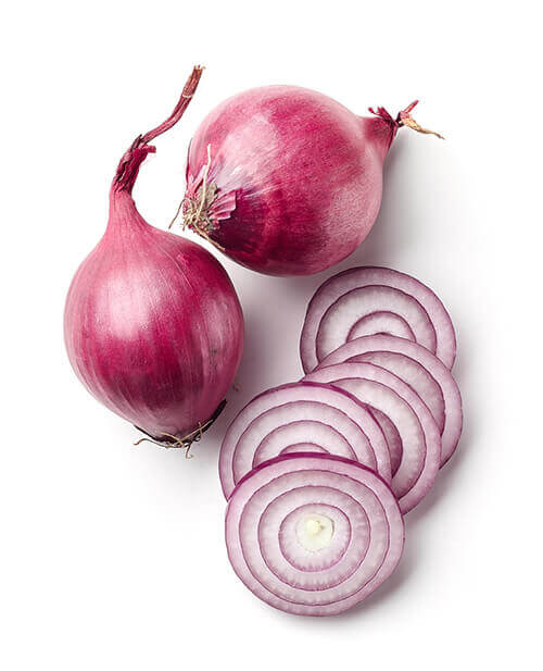 onion to clear infection of pilonidal cyst