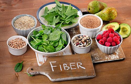 healthy plant-based fibre rich diet
