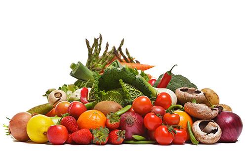 Eat foods rich in fiber