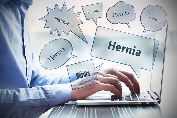 Complications after hernia surgery