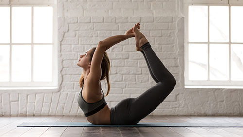 bow pose for prostate enlargement