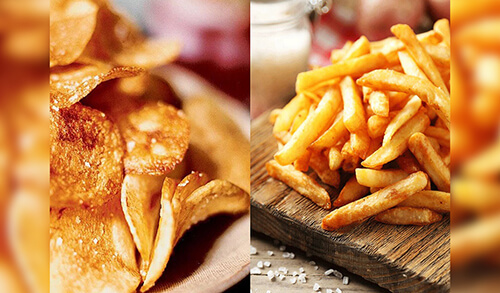 fried food in gallstones