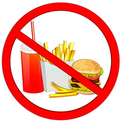 avoid fats foods