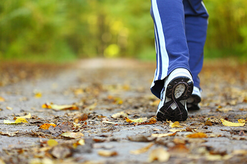 gentle exercises such as walking