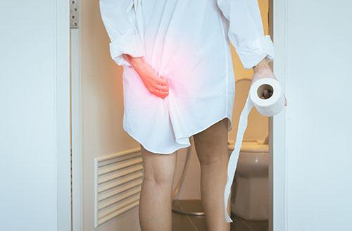 piles symptoms in women