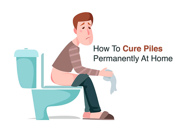 piles to cure at home