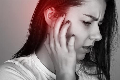 Ear pain in sinus