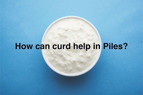 Curd for piles