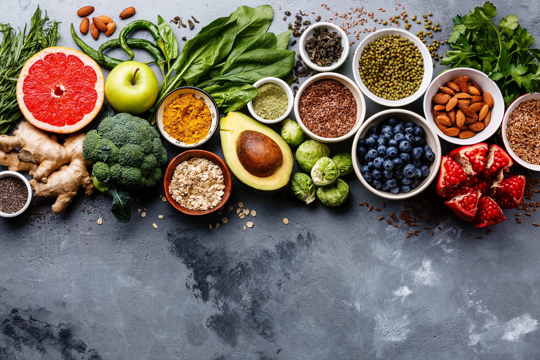 food items rich in fiber