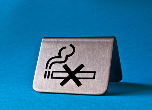 do not smoke to keep throat infections away