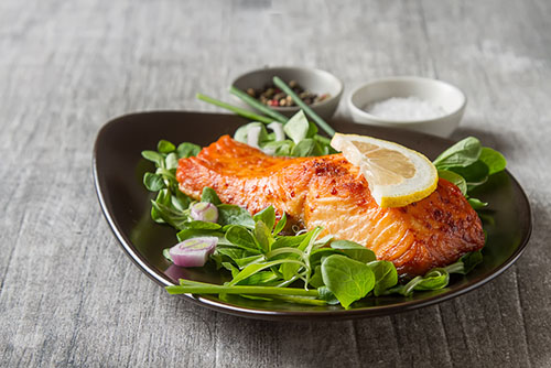 salmon for enlarged treatment