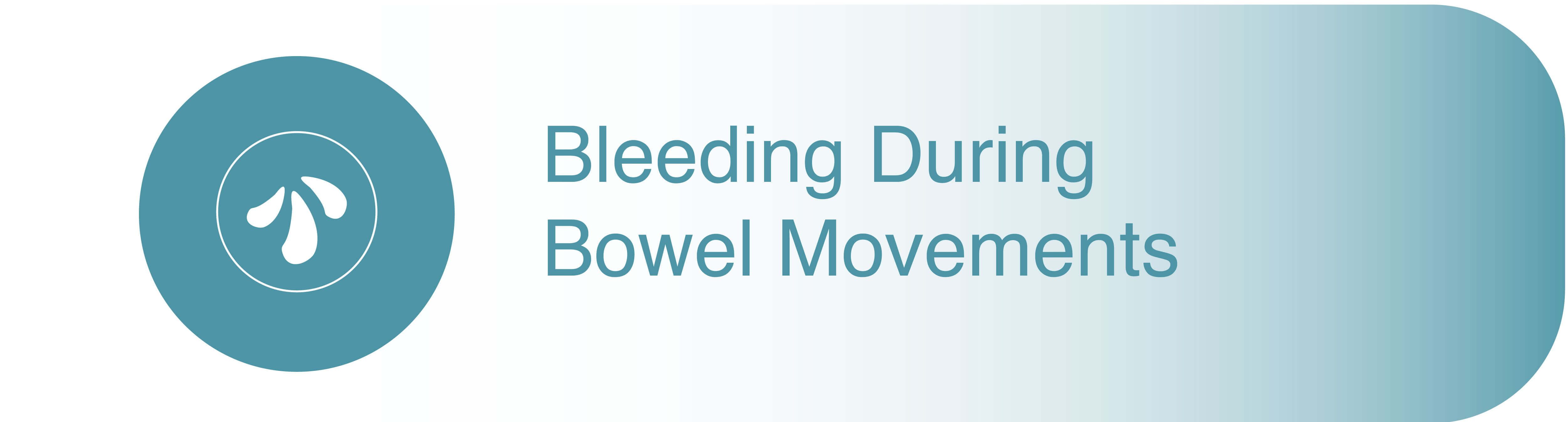 Bleeding during bowel movements in piles