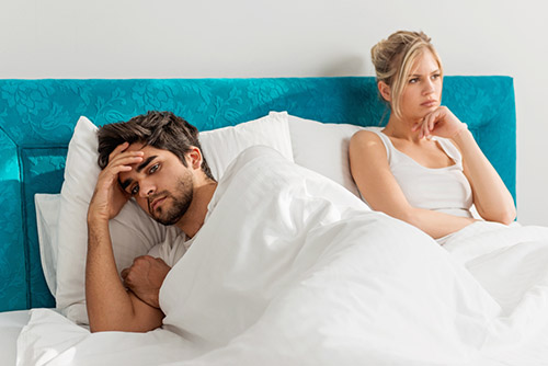 men suffering from male infertility