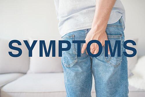 symptoms of thrombosed