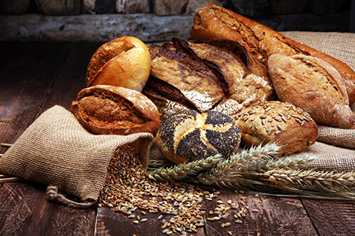 pictorial representation of bakery foods