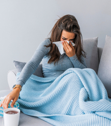 Other diseases such as allergies, flu, or cold
