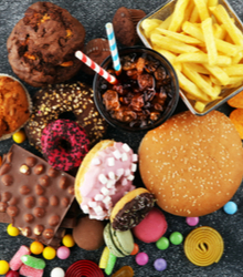 Poor eating habits, including a lot of sugary foods