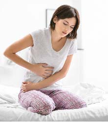 Abdominal pain and discomfort