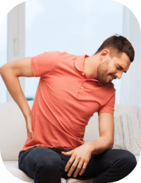 Pain while sitting or having a little push due to clothes