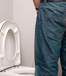 Difficulty or feeling of pain while urinating
